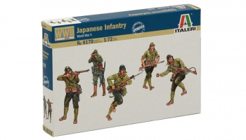 Model Kit figurky 6170 - WWII - JAPANASE INFANTRY (1:72)