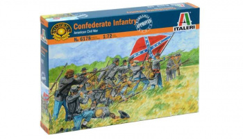 Model Kit figurky 6178 - CONFEDERATE INFANTRY (AMERICAN CIVIL WAR) (1:72)