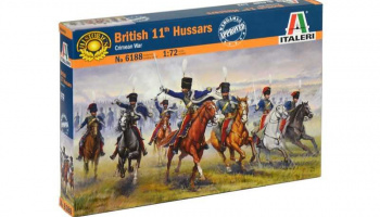 Model Kit figurky 6188 - British 11th Hussars (Crimea war) (1:72)