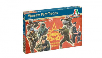 Warsaw Pact Troops (1980s) (1:72) Model Kit 6190 - Italeri