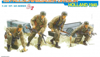 Model Kit figurky 6276 - 1st FALLSCHIRMJÄGER DIVISION (HOLLAND 1940) (GEN2) (1:35)