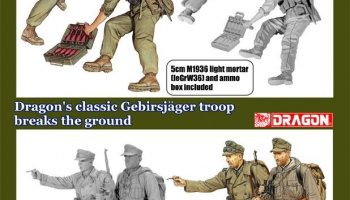 Model Kit figurky 6345 - GEBIRGSJÄGER 1940-1941 (1:35)
