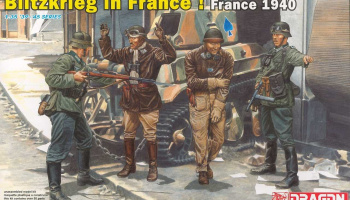 Model Kit figurky 6478 - Blitzkrieg in France! (France 1940) (1:35)