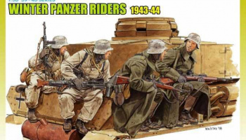 Model Kit figurky 6513 - WINTER TANK RIDERS 1943-44 (1:35)