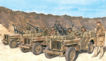 Model Kit figurky 6682 - SAS Vehicle Crews North Africa 1942 (1:35)