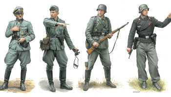 Model Kit figurky 6783 - Operation Marita, Greece 1941 (1:35)