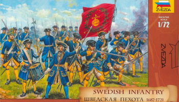 Model Kit figurky 8048 - Swedish Infantry (re-release) (1:72)