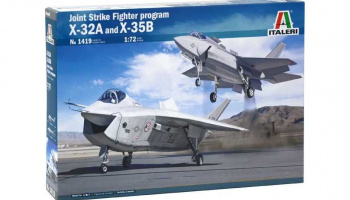 Model Kit letadla 1419 - JSF Program X-32A and X-35B (1:72)