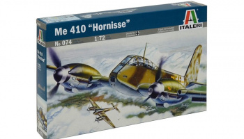 "Model Kit letadlo 0074 - ME 410 ""HORNISSE"" (1:72) – Italeri"