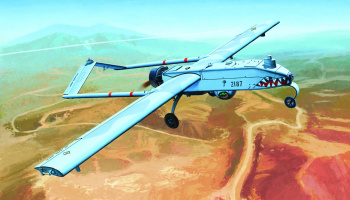 Model Kit letadlo 12117 - U.S.ARMY RQ-7B UAV (1:35)