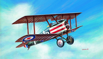 Model Kit letadlo 12447 - SOPWITH CAMEL WWI FIGHTER (1:72)