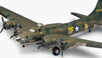 "Model Kit letadlo 12495 - B-17F ""MEMPHIS BELLE"" (1:72)"