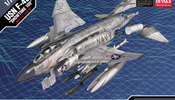 "Model Kit letadlo 12515 - F-4J ""SHOWTIME 100"" MCP (1:72)"
