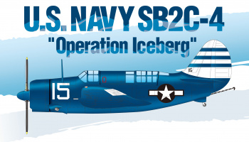 "Model Kit letadlo 12545 - U.S.Navy SB2C-4 ""Operation Iceberg"" LE: (1:72)"