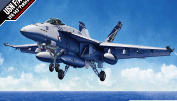 "Model Kit letadlo 12547 - USN F/A-18E VFA-143 ""PUKIN DOGS"" (1:72)"