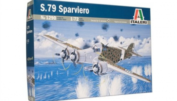 Model Kit letadlo 1290 - S.79 Sparviero (1:72)