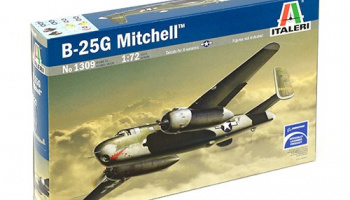 Model Kit letadlo 1309 - B-25G MITCHELL (1:72)