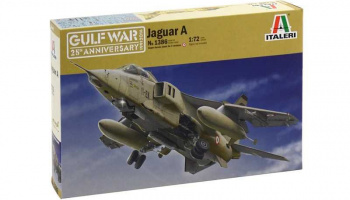 Model Kit letadlo 1386 - JAGUAR A (1:72)