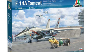 F-14A Tomcat (1:72) Model Kit 1414 - Italeri