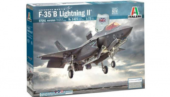 F-35 B Lightning II STOVL version (1:72) Model Kit 1425 - Italeri