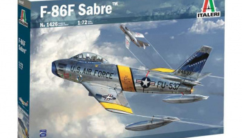 F. 86 F Sabre (1:72) Model Kit 1426 - Italeri