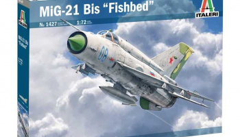 MiG-21 Bis ''Fishbed'' (1:72) Model Kit 1427 - Italeri