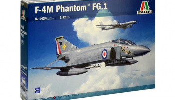 F-4M PHANTOM FG.1 (1:72) Model Kit 1434 - Italeri