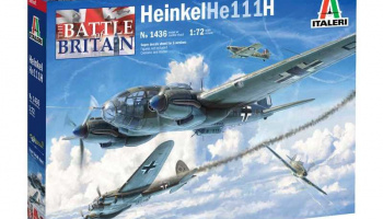 HEINKEL HE111H (1:72) Model Kit 1436 - Italeri