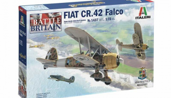 Model Kit letadlo 1437 - FIAT CR.42 Falco (1:72)