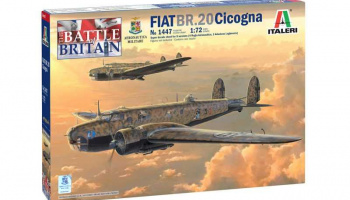 Model Kit letadlo 1447 - Fiat BR.20 Cicogna (1:72)