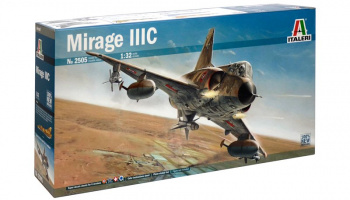 Model Kit letadlo 2505 - MIRAGE III (1:32)