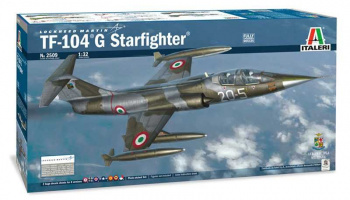 Model Kit letadlo 2509 - TF-104 G Starfighter (1:32)
