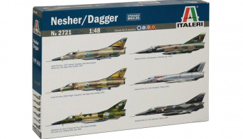 Model Kit letadlo 2721 - NESHER/ DAGGER (1:48)