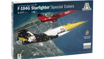 Model Kit letadlo 2777 - F-104 G STARFIGHTER (1:48)