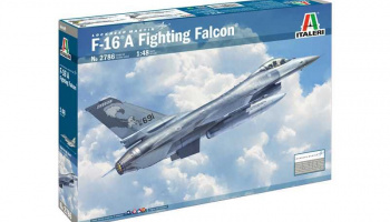 F-16A Fighting Falcon (1:48) - Italeri