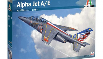 Alpha Jet A/E (1:48) Model Kit 2796 - Italeri