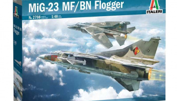 MiG-23 MF/BN Flogger (1:48) Model Kit 2798 - Italeri