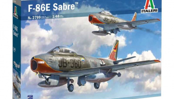 "F-86E ""Sabre"" (1:48) Model Kit 2799 - Italeri"