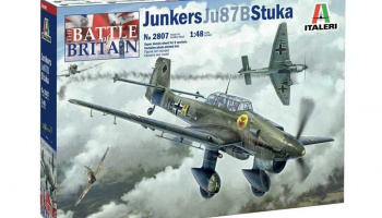 Ju-87B Stuka - Battle of Britain 80th Anniversary (1:48) Model Kit letadlo 2807 - Revell