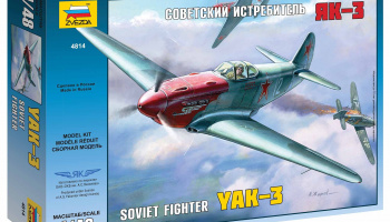 Model Kit letadlo 4814 - YAK-3 Soviet WWII Fighter (1:48)