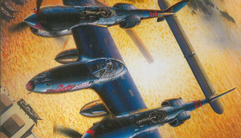 P-38J LIGHTNING (1:72) Model Kit 5018 - Dragon