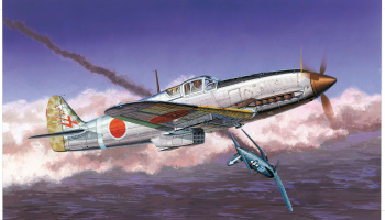 Model Kit letadlo 5028 - IJA TYPE 3 FIGHTER Ki61-1 'HIEN' (TONY) (3 in 1) (1:72)