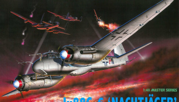 Model Kit letadlo 5509 - Ju88G-6 NACHTJAGER (1:48) – Dragon