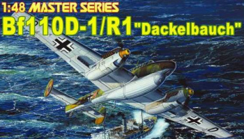 "Bf110-D1/R1 ""DACKELBAUCH"" (1:48) Model Kit 5556 - Dragon"