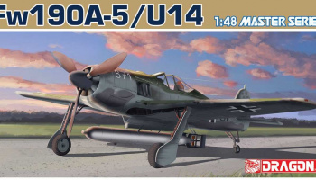 Fw190A-5/U-14 (1:48) Model Kit 5569 - Dragon