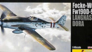 Model Kit letadlo 5575 - FOCKE-WULF Fw190D-9 'LANGNASEN-DORA' (1:48) - Dragon