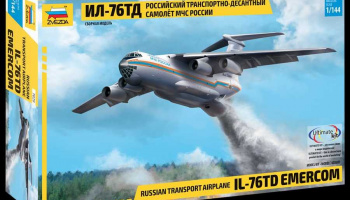 Model Kit letadlo 7029 - IL-76 TD EMERCOM (1:144)
