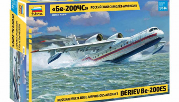 Beriev Be-200 Amphibious Aircraft (1:144) Model Kit letadlo 7034 - Zvezda