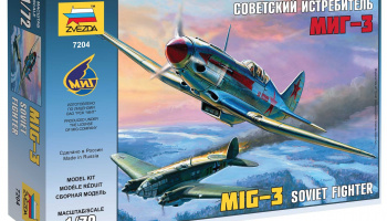 Model Kit letadlo 7204 - MIG-3 Soviet Fighter (1:72)