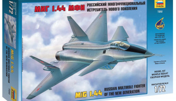 Model Kit letadlo 7252 - MIG 1.44 Russian Multirole Fighter (1:72)